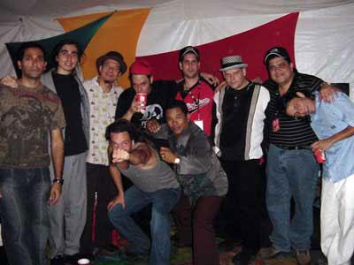 2004. Show en el Estadio Olimpico de Caracas