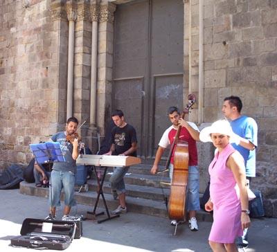 La esquina más musical de Barcelona