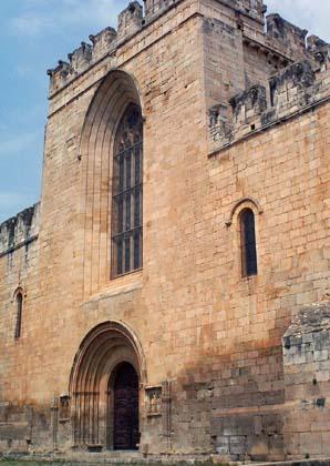 Monasterio de Santes Creus. Tarragona-Catalunya